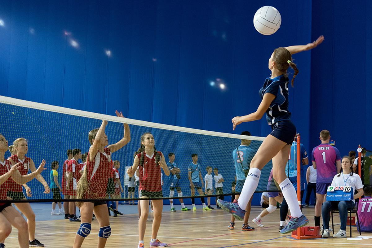 Картинки занятий волейболом